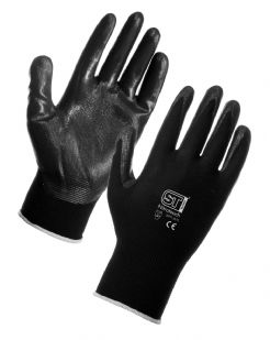 Unisex Nitrotouch Nitrile Palm Coated Nylon Gloves